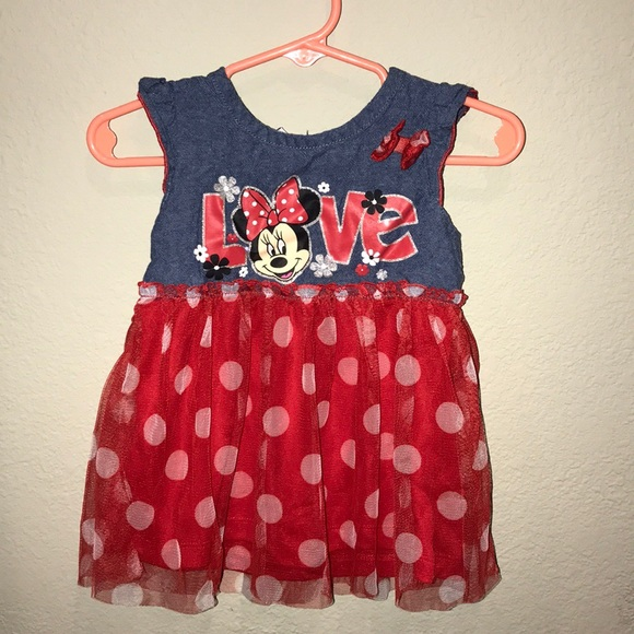 Little girlsu0027 Disney Minnie Mouse sleeveless dress & 68% off Disney Dresses Little Girls Minnie Mouse Sleeveless Dress ...